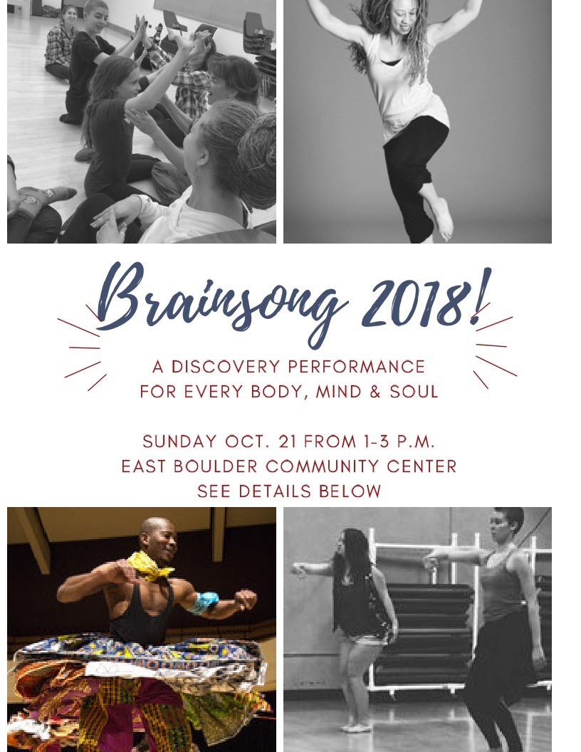 No shushing, no apologizing, no explaining... three simple rules at this upcoming sensory friendly concert! Oct. 21, 1-3pm at East Boulder Community Center. Details and to register at http://bit.ly/2PNSLto