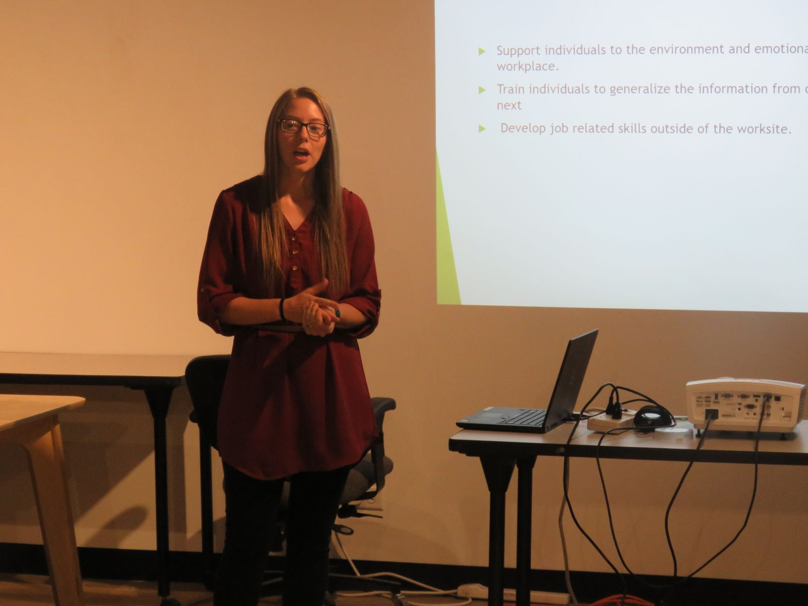 Meagan presents at Longmont Startup Week